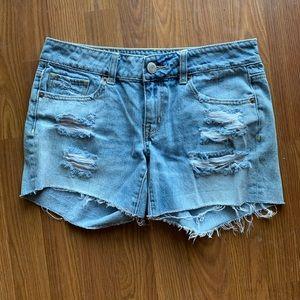 American Eagle jean shorts, size 4!